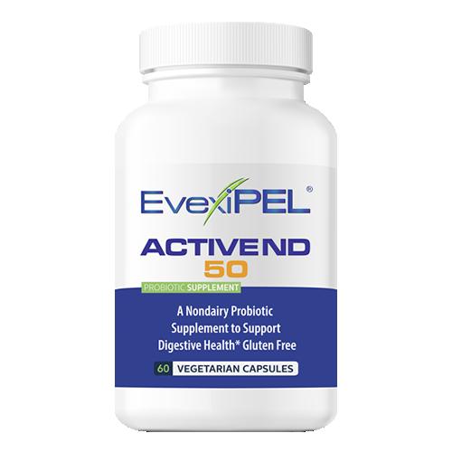 EvexiPEL® HRT ACTIVE ND Premium Probiotic that includes Prebiotic