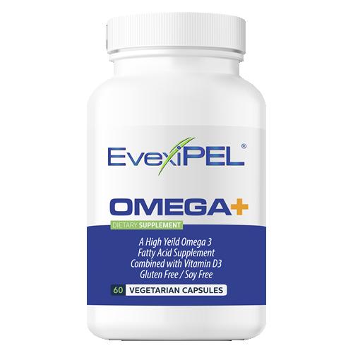 EvexiPEL OMEGA Plus - Premium Omega 3 Essential Fatty Acids