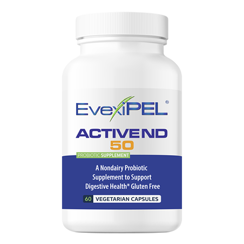 EvexiPEL® HRT ACTIVE ND Premium Probiotic that includes Prebiotic